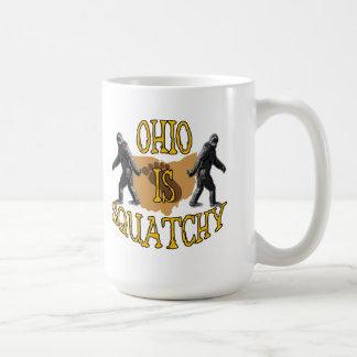 Ohio Is Squatchy Coffee Mug