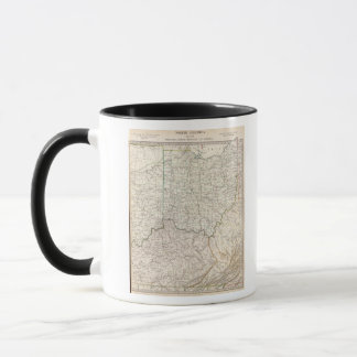 Ohio, Kentucky, Virginia Mug