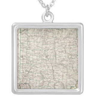 Ohio, Kentucky, Virginia Silver Plated Necklace
