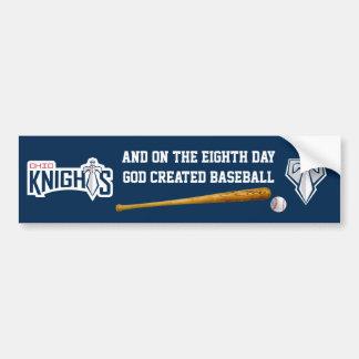 Ohio Knights Bumper Sticker - Navy