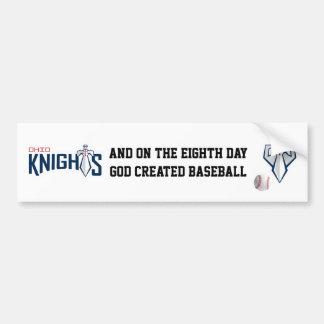 Ohio Knights Bumper Sticker - White