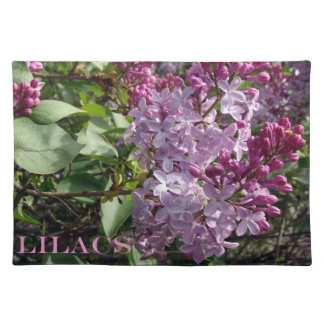Ohio Lilacs In Spring Placemat