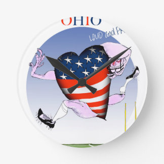 ohio loud and proud, tony fernandes round clock