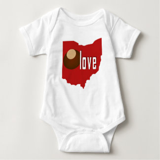 ohio love baby bodysuit