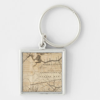 Ohio Map Key Ring