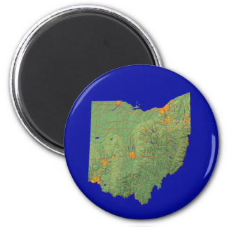 Ohio Map Magnet
