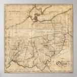 Ohio Map Poster