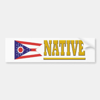 Ohio Native Bumper Sticker