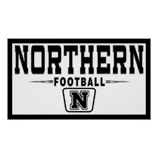 Ohio Northern Football Poster