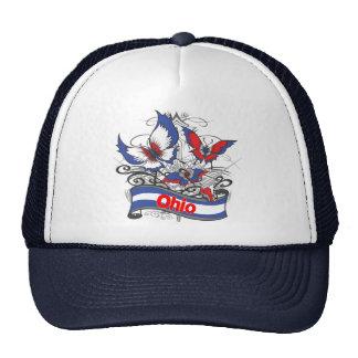 Ohio Patriotism Butterfly Cap