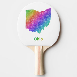Ohio Ping Pong Paddle