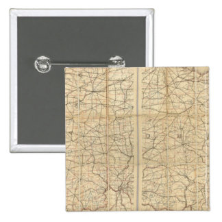 Ohio Postal Route 15 Cm Square Badge