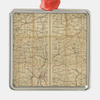 Ohio Postal Route Christmas Ornament
