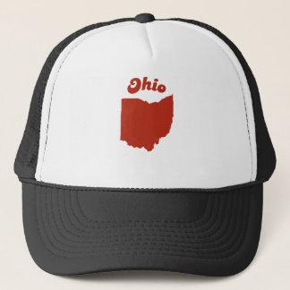 OHIO Red State Trucker Hat