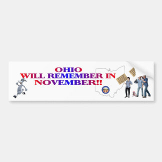 Ohio - Return Congress To The People!! Bumper Sticker
