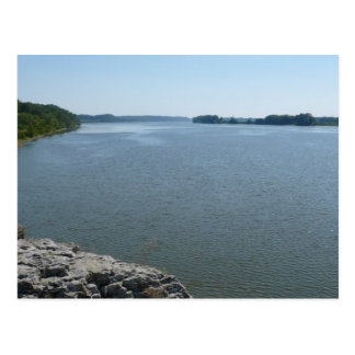 Ohio River from Gazebo Postcard
