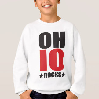 Ohio Rocks! State Spirit Gifts and Apparel Sweatshirt
