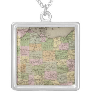 Ohio Silver Plated Necklace
