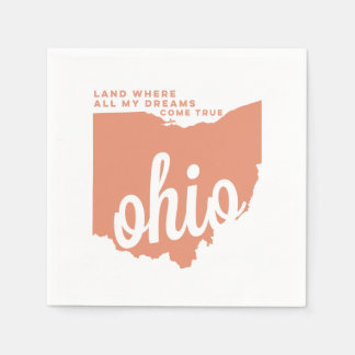 ohio | song lyrics | peach disposable serviettes