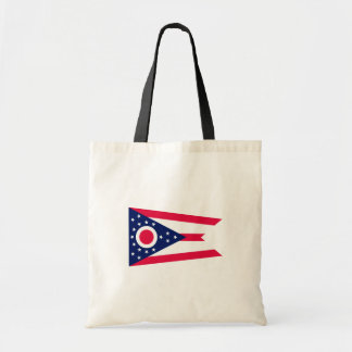 Ohio State Flag Design Budget Tote Bag
