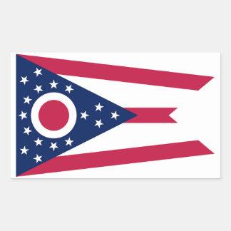 Ohio State Flag Sticker - 4 per sheet