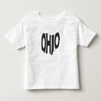 Ohio State Name Word Art Black Toddler T-Shirt