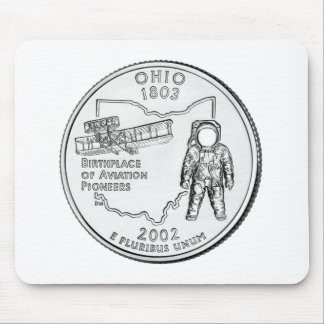 Ohio State Quarter Mouse Pads