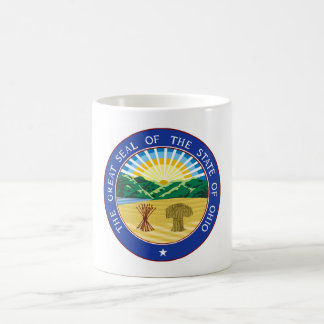 Ohio state seal america republic symbol flag coffee mug