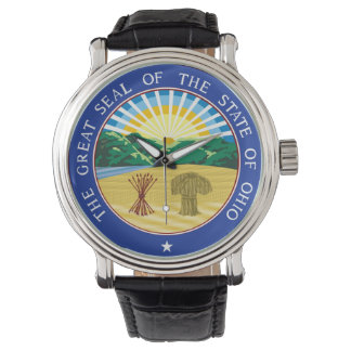 Ohio state seal america republic symbol flag watch