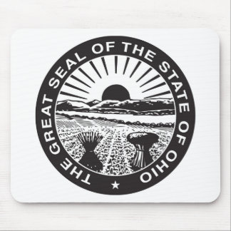 Ohio State Seal and Motto Mouse Mat
