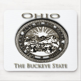 Ohio State Seal Buckeye Mouse Pad