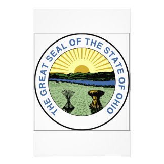 Ohio State Seal Stationery Paper