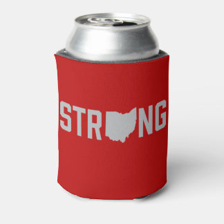 Ohio State Strong Beer Can Coolers