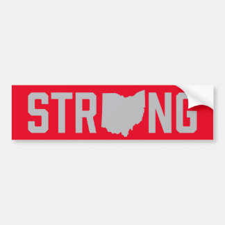 Ohio State Strong Bumper Sticker Decal