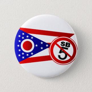 Ohio Stop SB5 6 Cm Round Badge