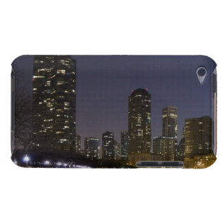 Ohio Street Beach in downtown Chicago at night, Barely There iPod Cases