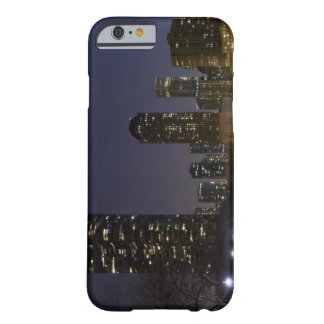 Ohio Street Beach in downtown Chicago at night, iPhone 6 Case
