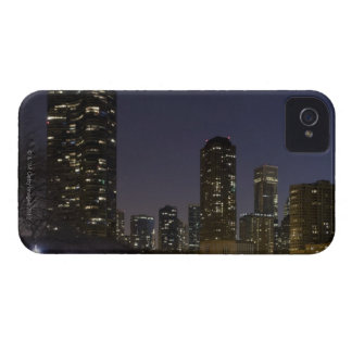 Ohio Street Beach in downtown Chicago at night, Case-Mate iPhone 4 Cases