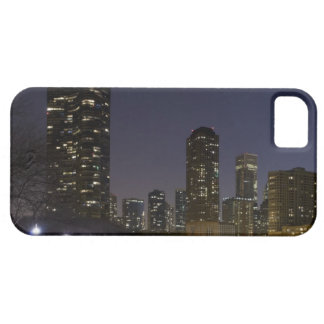 Ohio Street Beach in downtown Chicago at night, iPhone 5 Covers