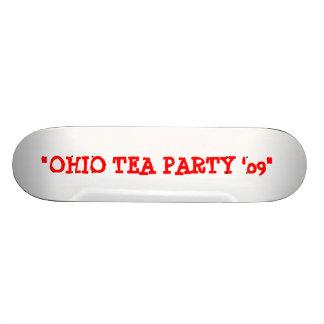 OHIO TEA PARTY 09 SKATEBOARD
