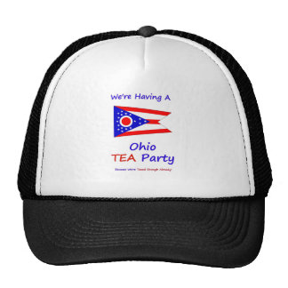 Ohio TEA Party - We re Taxed Enough Already Trucker Hat