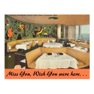 Ohio, Terrace Plaza Hotel, Cincinnati Postcard