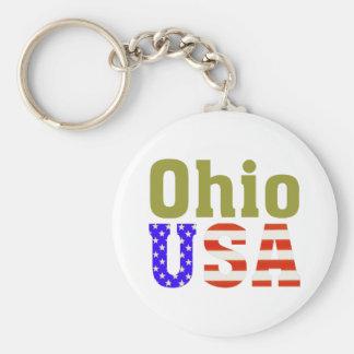 Ohio USA! Key Ring