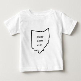 Ohio Worst State Ever Baby T-Shirt