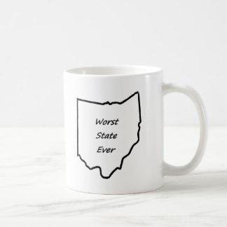 Ohio Worst State Ever Coffee Mugs