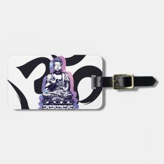Ohm Buddha Luggage Tag
