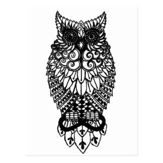 Ohm Owl Postcard