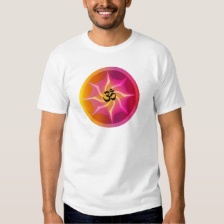 Ohm Psychedelic Spiral Tee Shirts