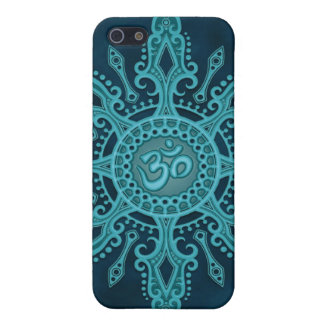 Ohm Star (deep blue) iPhone 5/5S Cases