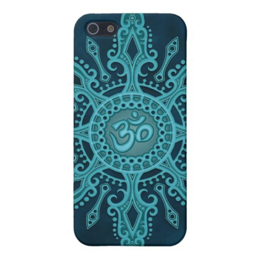 Ohm Star (deep blue) iPhone 5 Cover